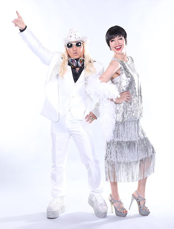 ミュージカル「サタデー・ナイト・フィーバー」 公式サポーター DJ KOOとアン ミカ